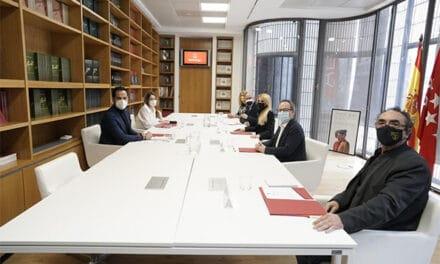 """Aguado se reúne con los principales representantes del sector cultural: """"Trabajamos para levantar restricciones cuanto antes"""""""