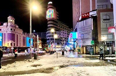 La nueva ola de frío congela España con temperaturas históricas