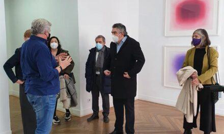 El ministro de Cultura y Deporte apoya a las artes visuales contemporáneas en ARCO GalleryWalk