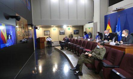 Margarita Robles asiste a la reunión de ministros de Defensa de la OTAN