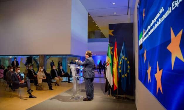 Fernández Vara resalta que el reto de futuro pasa por dejar 'una Europa, una España y una Extremadura mejor'