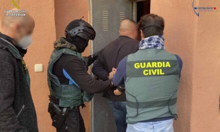 La Guardia Civil detiene al líder de una de las organizaciones criminales más activas del Noreste de Francia