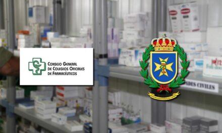Defensa y el Consejo General de Farmacéuticos aunan fuerzas para colaborar en proyectos de investigación y desarrollo