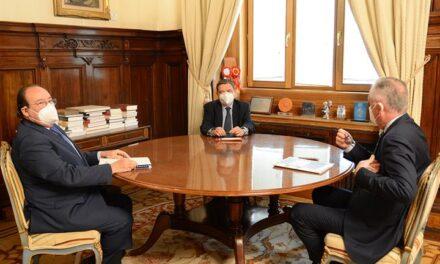 Planas analiza con el presidente de SAECA las nuevas líneas de subvenciones para maquinaria agrícola, jóvenes y sector pesquero