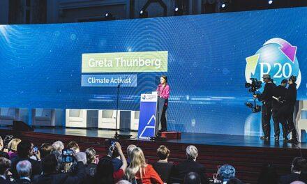 La activista Greta Thunberg, contra la exploración marciana.