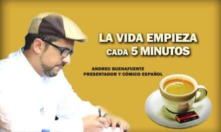 Andreu Buenafuente, La frase positiva del día. Sobrecito de azúcar
