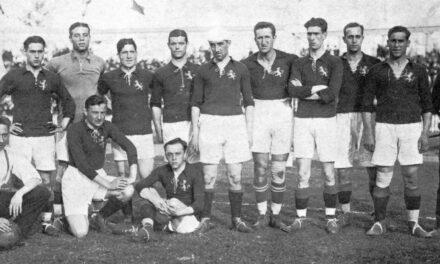 3ª MEDALLA (AMBERES 1920). PLATA en Fútbol Masculino, NACE LA FURIA ESPAÑOLA