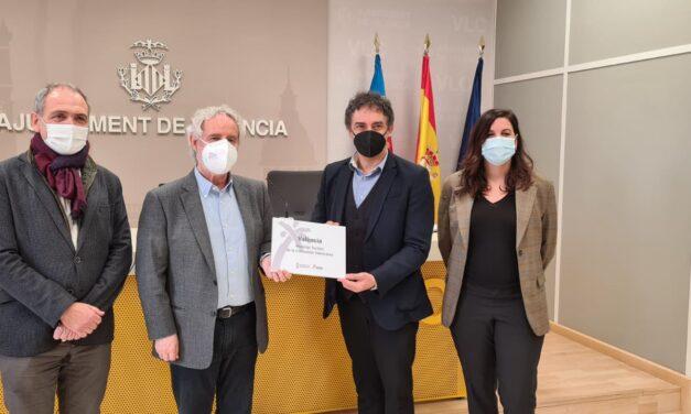 Francesc Colomer reconoce el trabajo y esfuerzo de la ciudad de València por su nueva distinción de Municipio Turístico