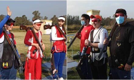 Beatriz Martínez, Plata en Foso Olímpico. Alberto Fernández y Joan García, Plata y Bronce en la prueba masculina de Foso Olímpico.