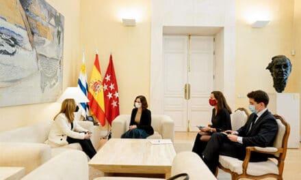 Díaz Ayuso refuerza la colaboración institucional entre Madrid y Uruguay