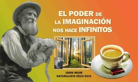 El poder de la Imaginación nos hace infinitos… La frase positiva del día. Sobrecito de azúcar