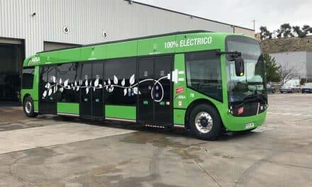 La Comunidad de Madrid incorpora a la flota de autobuses del Consorcio el primer autobús 100% eléctrico