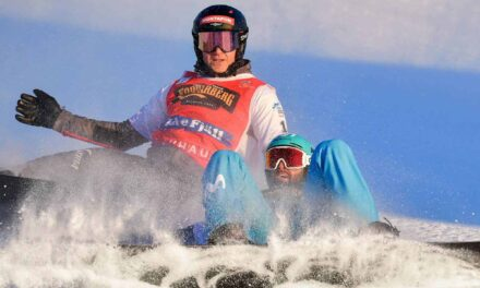 Lucas Eguibar, Plata en boardercross en la Copa del Mundo de snowboard de Reiteralm (Austria)
