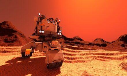 Aterrizaje del Perseverance en la superficie de Marte escasamente hace unas horas.