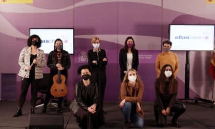 El Ministerio de Cultura y Deporte renueva su participación en Ellas Crean para visibilizar la labor de artistas y creadoras