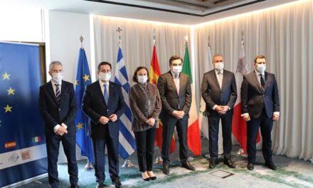 España, Italia, Grecia, Chipre y Malta reclaman a la UE que garantice un reparto equitativo de la responsabilidad en materia migratoria