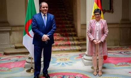 La ministra de Asuntos Exteriores, Unión Europea y Cooperación recibe al ministro de Asuntos Exteriores de Argelia