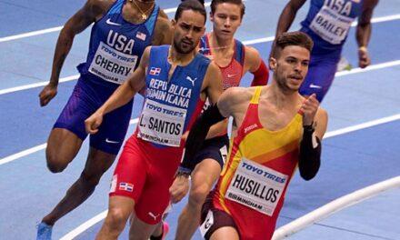 Óscar Husillos, ¡CAMPEÓN DE EUROPA! en 400 metros.