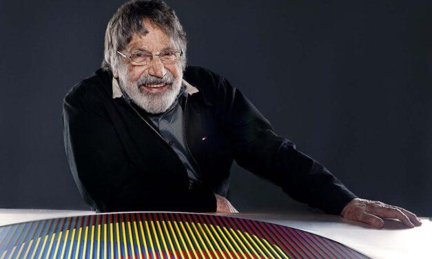 Maestro Cruz Diez y su arte cinético será exhibido a partir de hoy en el Reina Sofía de Madrid