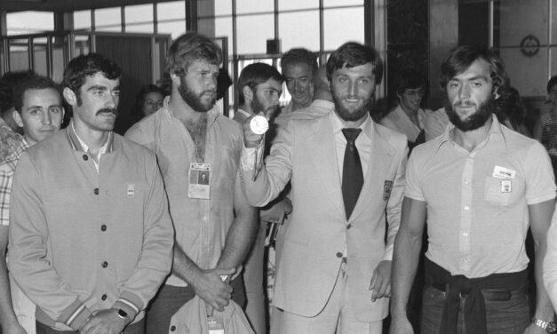 12ª MEDALLA (Montreal 1976). PLATA en Piragüismo (K-4, 1000 m) EL PIRAGUISMO SE ESTRENA EN EL MEDALLERO