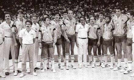 22ª MEDALLA (Los Ángeles 1984). PLATA en Baloncesto Masculino LA PLATA QUE MARCÓ EL CAMINO