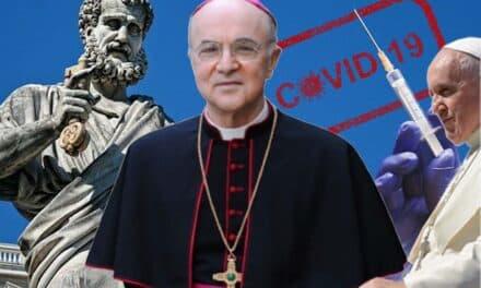 "Histórica carta del arzobispo católico italiano, monseñor CARLO MARIA VIGANÒ que desenmascara según él, la ""CONSPIRACIÓN CRIMINAL"" de la pandemia"