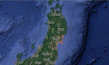Terremoto en Japón. El seísmo ha tenido lugar frente a la costa de Miyagi, a unos 60 kilómetros de profundidad. Se ha activado la alerta de tsunami