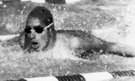 13ª MEDALLA (Moscú 1980). BRONCE en Natación (Mariposa 100 metros). ARRANCA LA SAGA LÓPEZ – ZUBERO