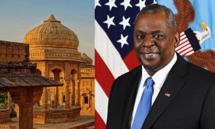 """Considera el secretario de Defensa estadounidense, Lloyd Austin """"prioritaria"""" la relación militar EEUU con la India"""