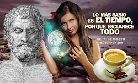 Lo más sabio es el Tiempo, porque esclarece todo… La frase positiva del día. Sobrecito de azúcar